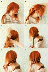 How to Style a Reverse Crown Braid  A Beautiful Mess