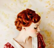 style pin curls - beautiful