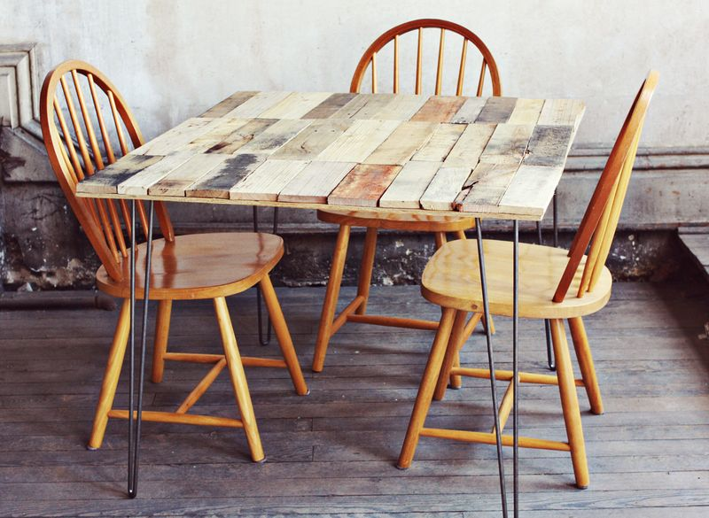 diy kitchen tables viking appliances my favorite table ideas buy this cook that hair pin