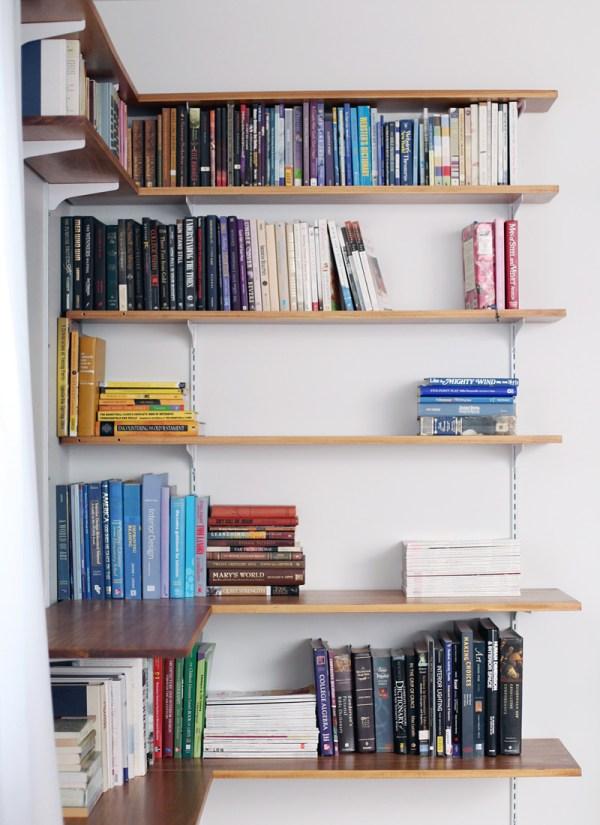 Build Your Own Corner Shelves