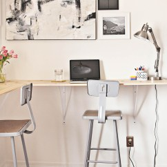 Chair Stand Test Measure Crate And Barrel Leather With Ottoman Building A Standing Desk Beautiful Mess