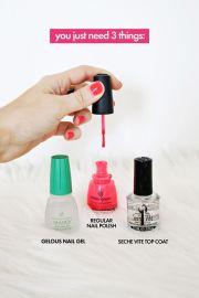 gel manicure home