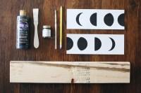 Teen DIY: Moon Phase Wall Art