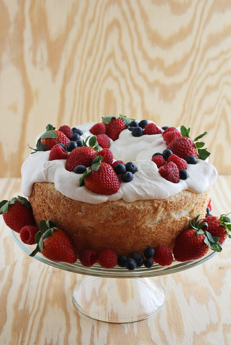 Emma S Birthday Cake Angel Food A Beautiful Mess