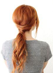 crisscross ponytail beautiful