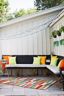 Make Outdoor Cushions Beautiful Mess