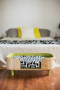 How to Make a Modern Pet Bed - A Beautiful Mess