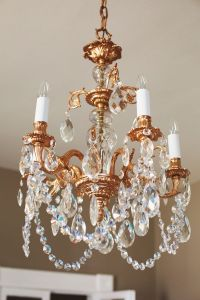 Our Restyled Copper Chandelier - A Beautiful Mess