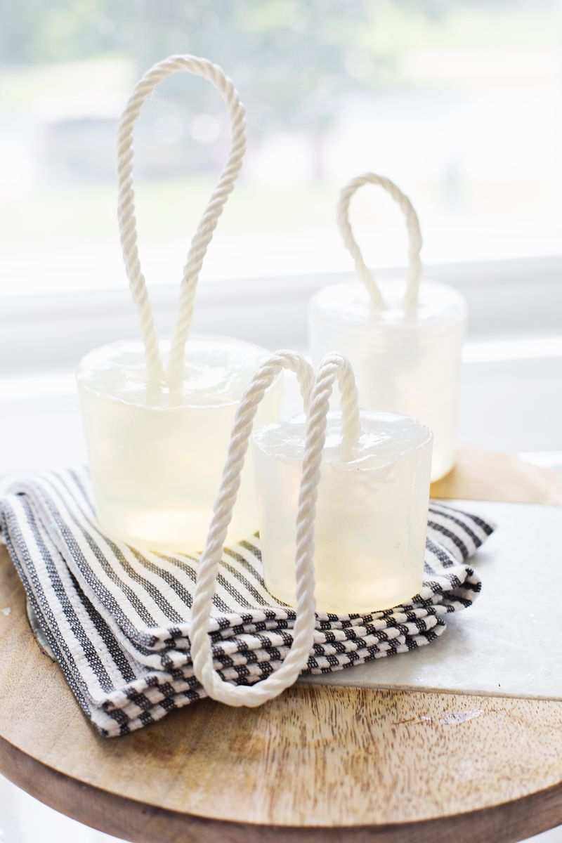 Diy Soap On A Rope A Beautiful Mess
