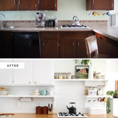 Installing Kitchen Backsplash Update Cabinets How To Make An Inexpensive Plank - A Beautiful Mess