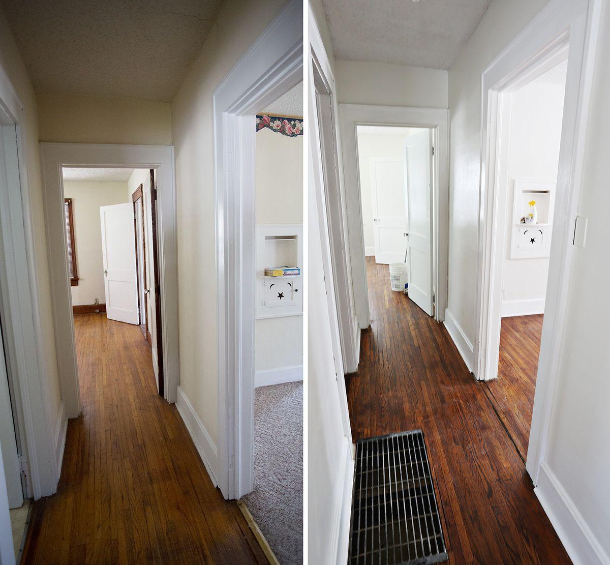 Refinishing Old Wood Floors  A Beautiful Mess