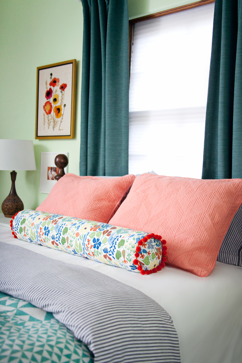 How To Make A Bolster Pillow Cover