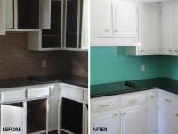 How to Paint a Tile Backsplash! - A Beautiful Mess