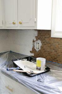 Can You Paint Tile Backsplash | Tile Design Ideas