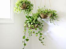 Easy Hanging Planter DIY - A Beautiful Mess