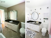 Laura's Guest Bathroom (Before + After!) - A Beautiful Mess