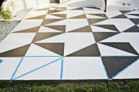 Painted Patio Tile DIY  A Beautiful Mess