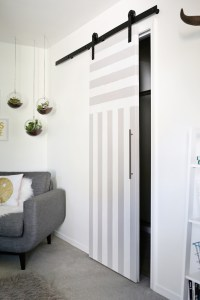 Sliding Door Solution for Small Spaces - A Beautiful Mess