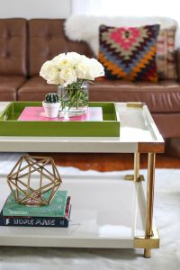 Styling a Coffee Table: 3 Ways  A Beautiful Mess
