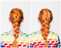 The Secret to Thicker Braids - A Beautiful Mess