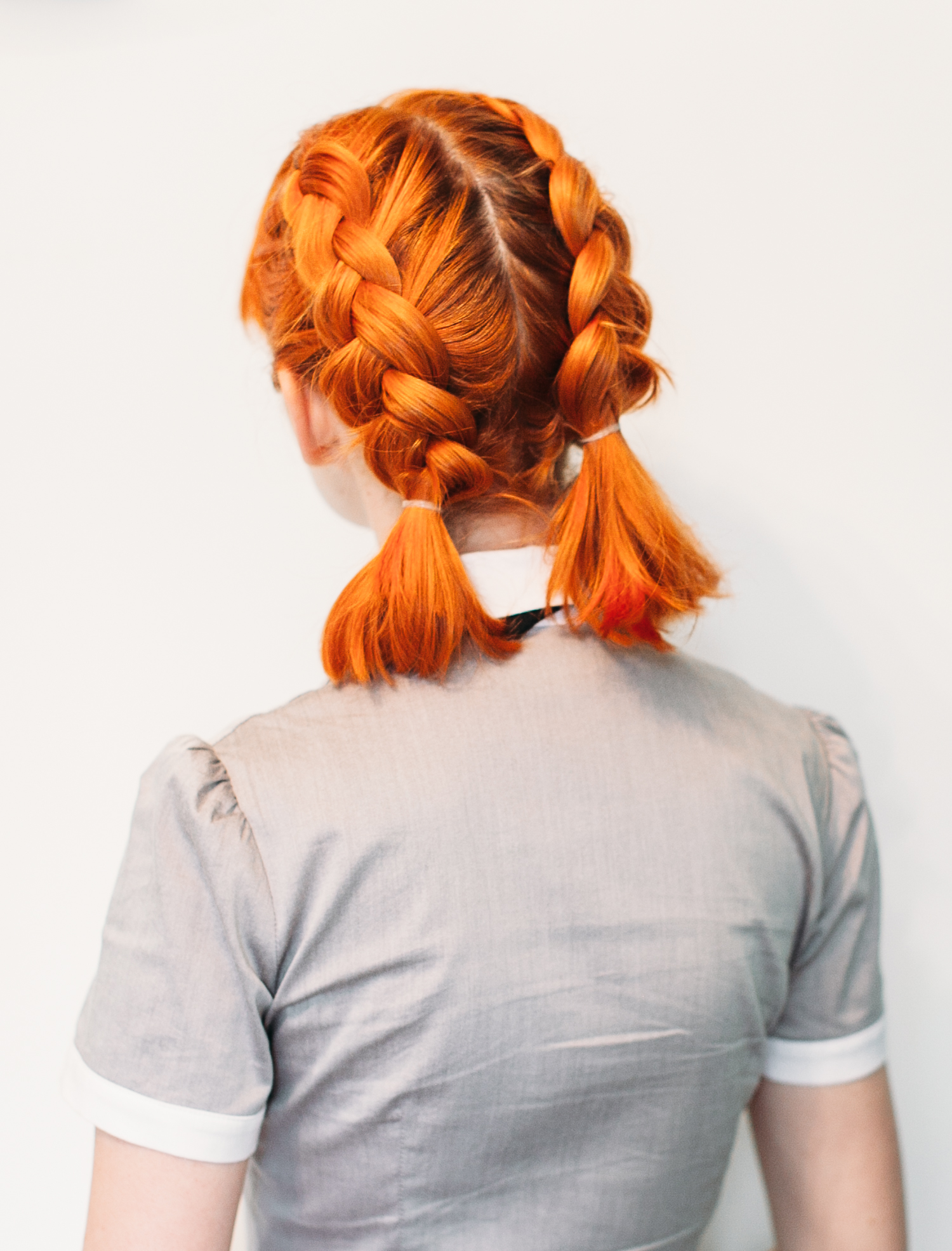 Double Dutch Pigtails For Short Hair A Beautiful Mess
