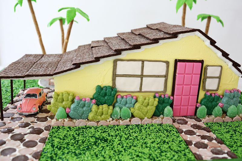 Palm Springs Gingerbread House OMG!! – A Beautiful Mess