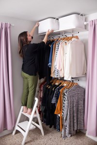 Creating an Open Closet System