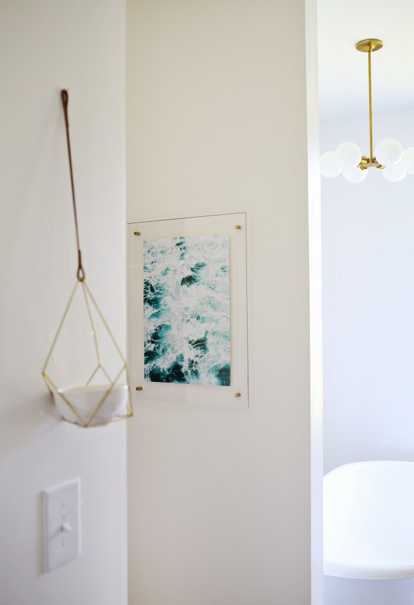 Floating Acrylic Frame Diy Beautiful Mess