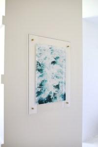 Floating Acrylic Frame DIY