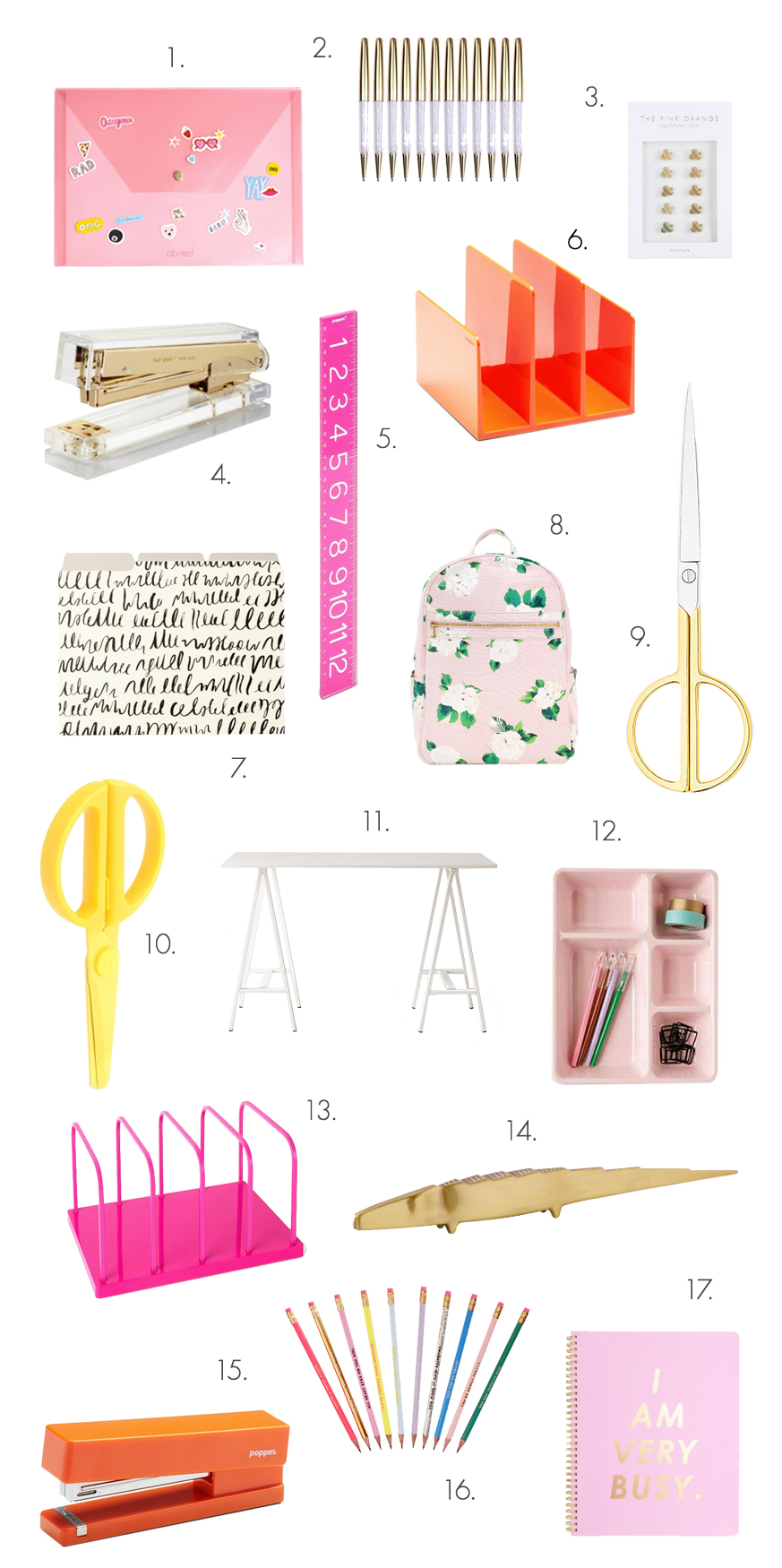 The Ultimate Back-To-School Shopping List For Grown-Ups! (Click