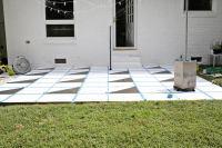 Painted Patio Tile DIY - A Beautiful Mess