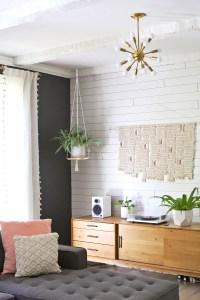 Hanging Plant Shelf DIY - A Beautiful Mess