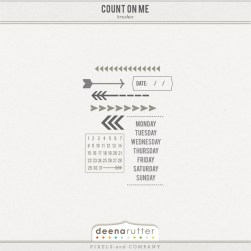 Count On Me Brush Set
