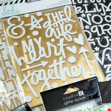 Thickers, Stickers & Gold Foil
