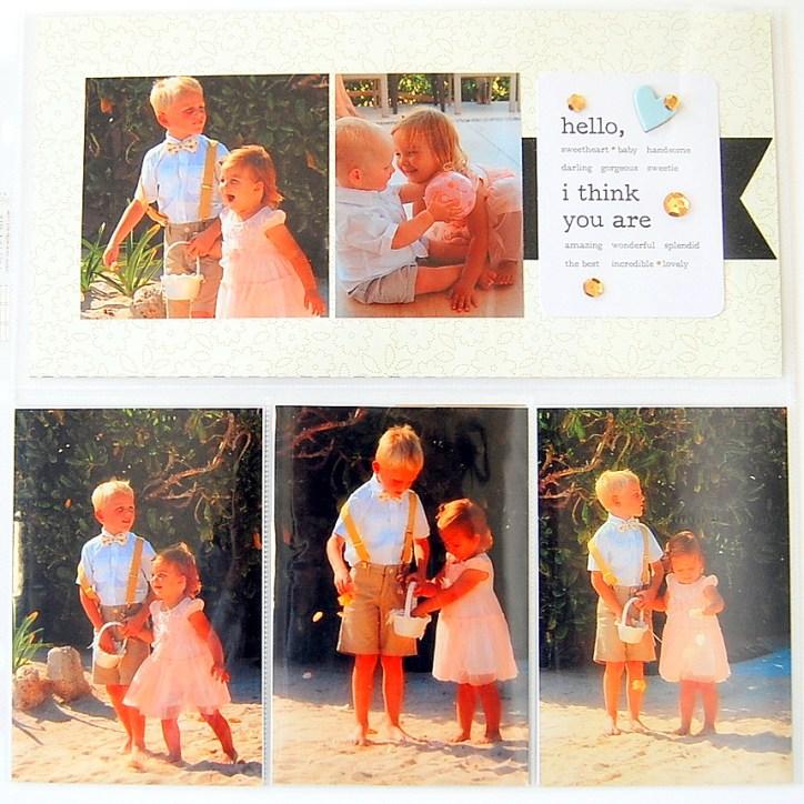 Hello - Miniature Bride Pocket Page