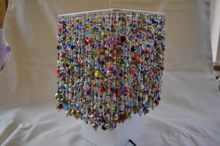 Beaded Lamp 10