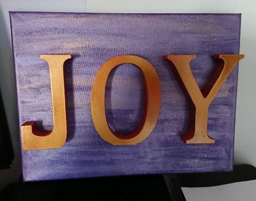 Word art: JOY 5