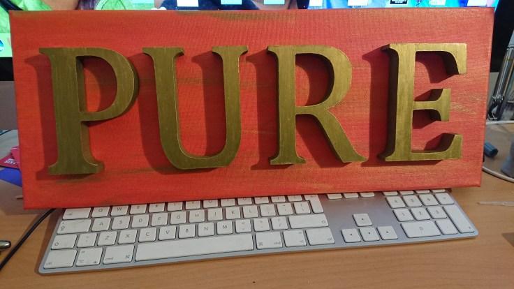 Word art: Pure 2