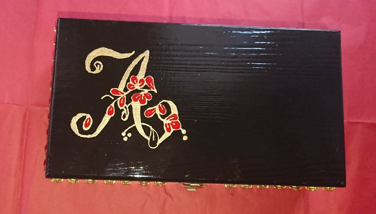 Alana's decorated box 7
