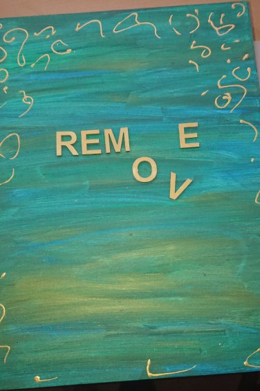 Word art: Remove your mask 3