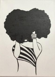 Afro girl 2 image 1