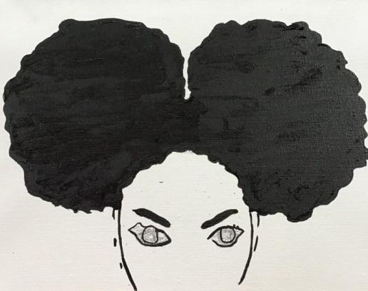 Afro lady 1 image 1