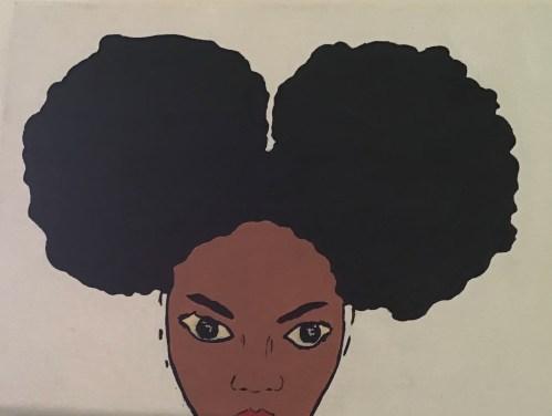 Afro lady 1: image 3