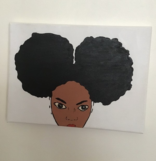 Afro girl 1: main image