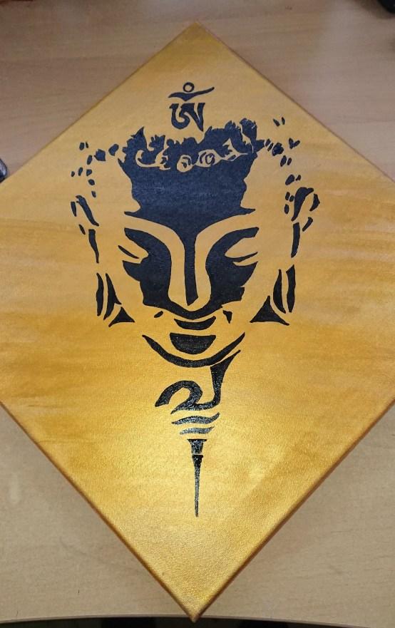 Buddha painting 1. Image 2