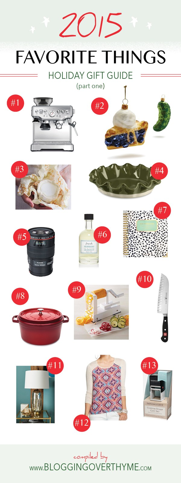 Favorite Things Holiday Gift Guide  A Beautiful Plate