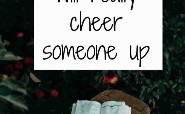 Gifts To Cheer Someone Up And Make Them Smile Again