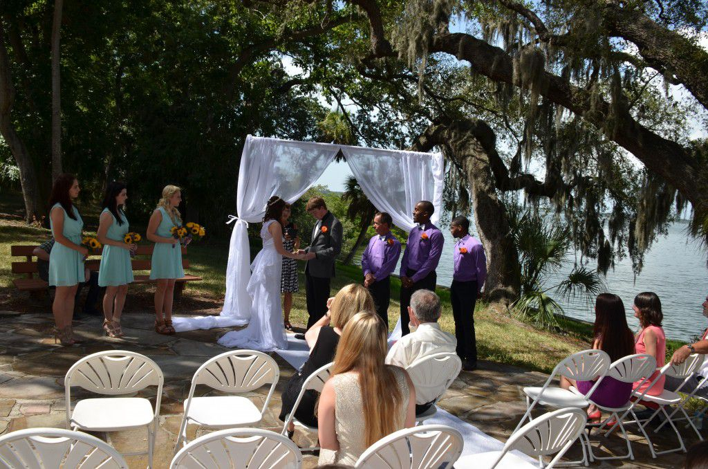 Phillippe Park Safety Harbor wedding