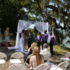 Teal Colored Chairs Swivel Chair With Tablet Arm Phillippe Park Safety Harbor Wedding