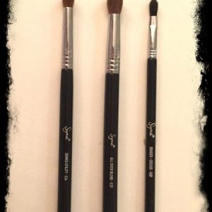 Sigma eyeshadow makeup brushes